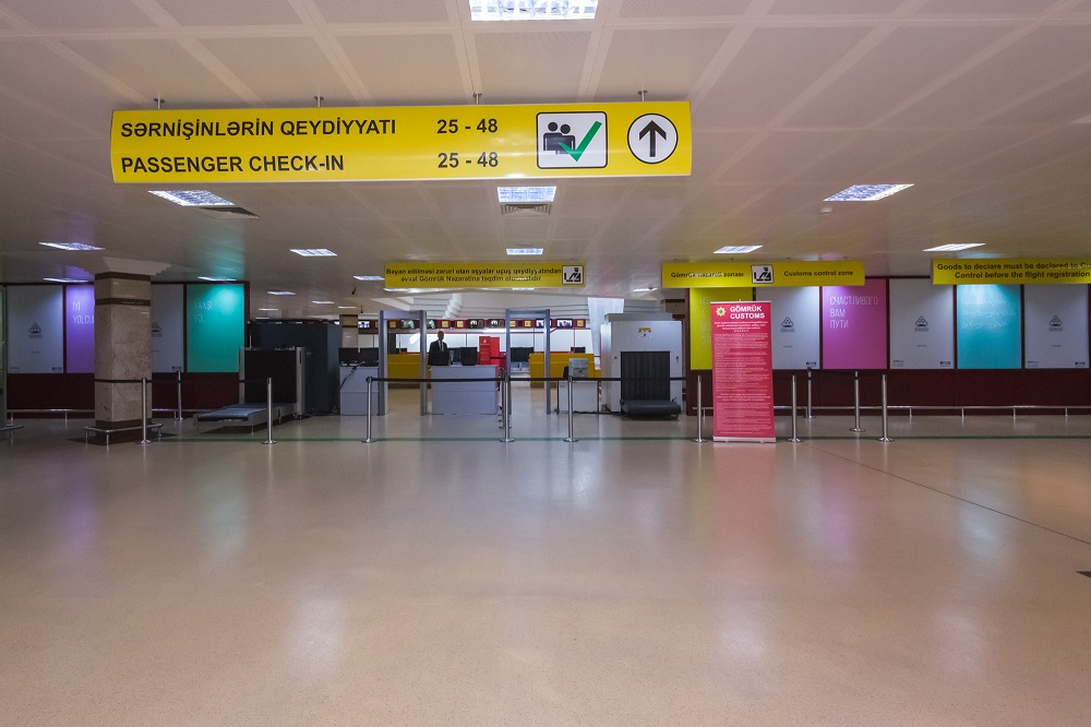Check-in Counter Will Be Closed 60 Minutes Prior To